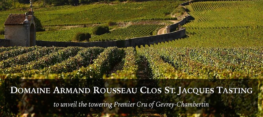 19 Jan 2019 | Domaine Armand Rousseau Clos St. Jacques Tasting at Private Cellar